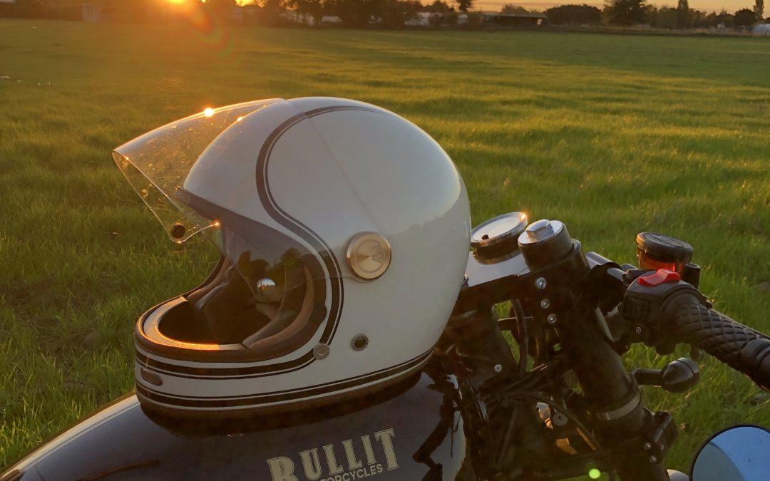 Test du casque moto vintage Full Moon de Marko Helmets